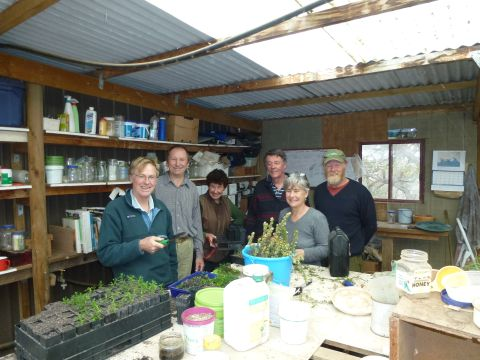 People from the Plant Propagation Group